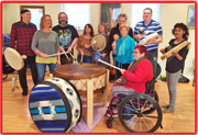 Shamanic & Wellbeing Drumming with Tribal Circle Dancing Events Cambridge UK - Mind Body spirit Holistic well-being!